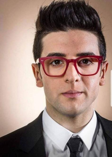 Piero in red glasses