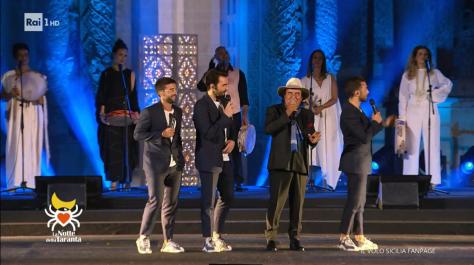 IL VOLO and Al Bano on stage