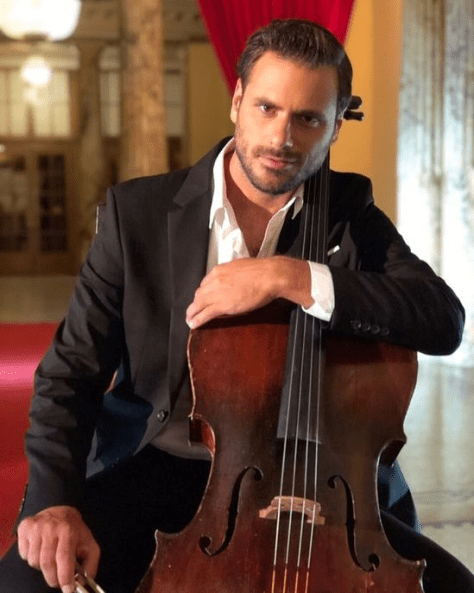 STJEPAN HAUSER with cello
