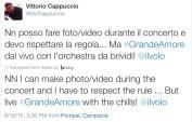 original tweeter noted; LiJoy PBS concert photo rules - Pompeii - June 2015