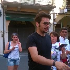 @catyiacopetti Ignazio and fans - Bresica - 2015