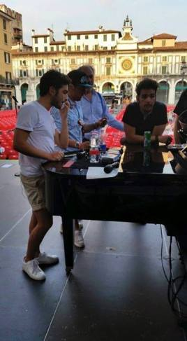 Diego Basso rehearsal - Bresica - 2015