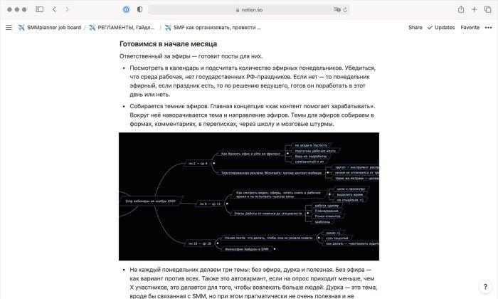 регламент по подготовке вебинаров, так проявлялся кайдзен