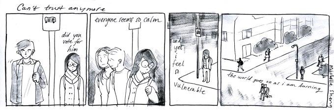 Comic by Michelle Sheng.