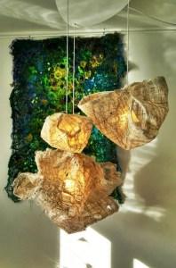 Skulpturelle Lamper