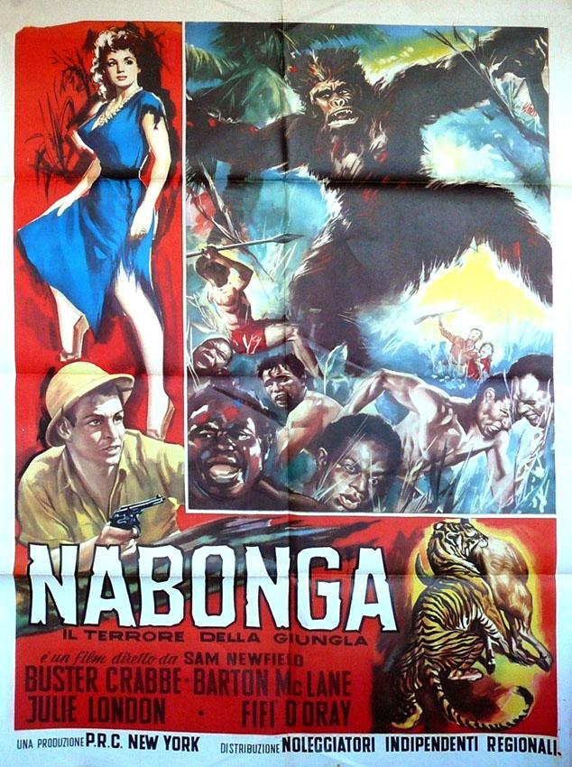 Nabonga (1944) Il terrore della giungla