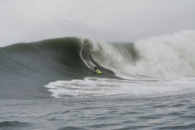 Jamie Mitchell competed at Puerto Escondido with a broken sternum, is there anyone more fitting to the term charger?