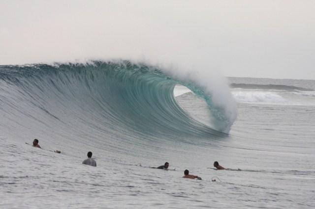 Lance's Right aka Hollow Tree's aka HT's. The pin-up centrefold for the Mentawai islands and one of many, many reasons to explore the Indonesian archipelago.