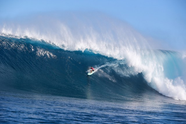 Was this from Ian Walsh, the greatest big wave ever surfed?