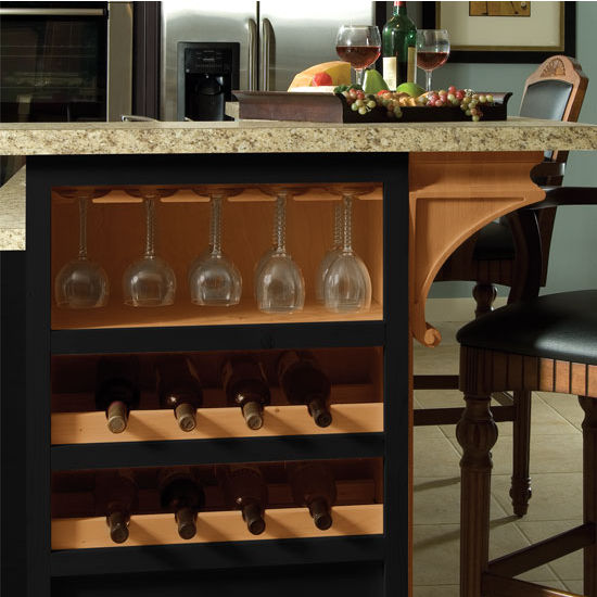 Wooden Stemware Rack For Wine Glasses In Maple By Hafele
