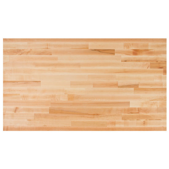Butcher Block Countertops Blended Maple 25 Deep Kitchen Countertop 1 12 Thick By John