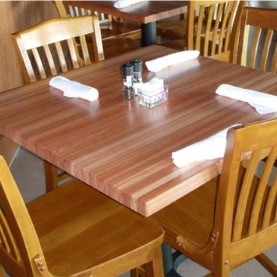 Table Tops Square Hard Maple Butcher Block Table Top By John Boos