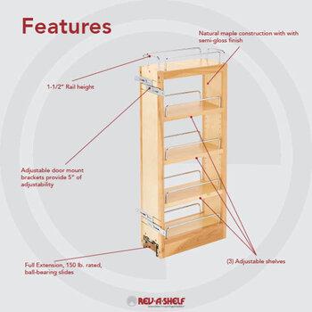 Cabinet Organizers Kitchen Hafele Rev Shelf