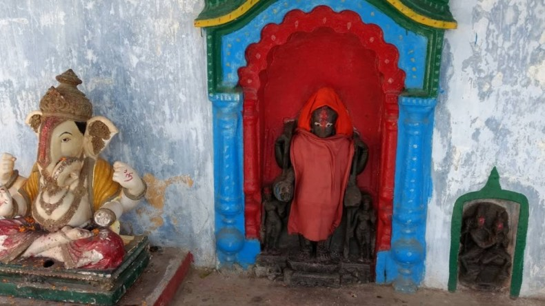 A Temple Inside the Sita Kund