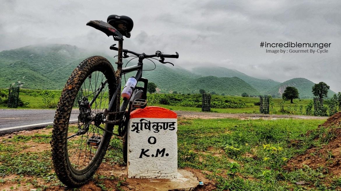 The beauty of Rishikund: Pedalling on Bicycle