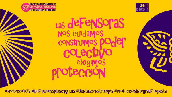 Resultado de imagen para iniciativa mesoamerica mujeres defensoras