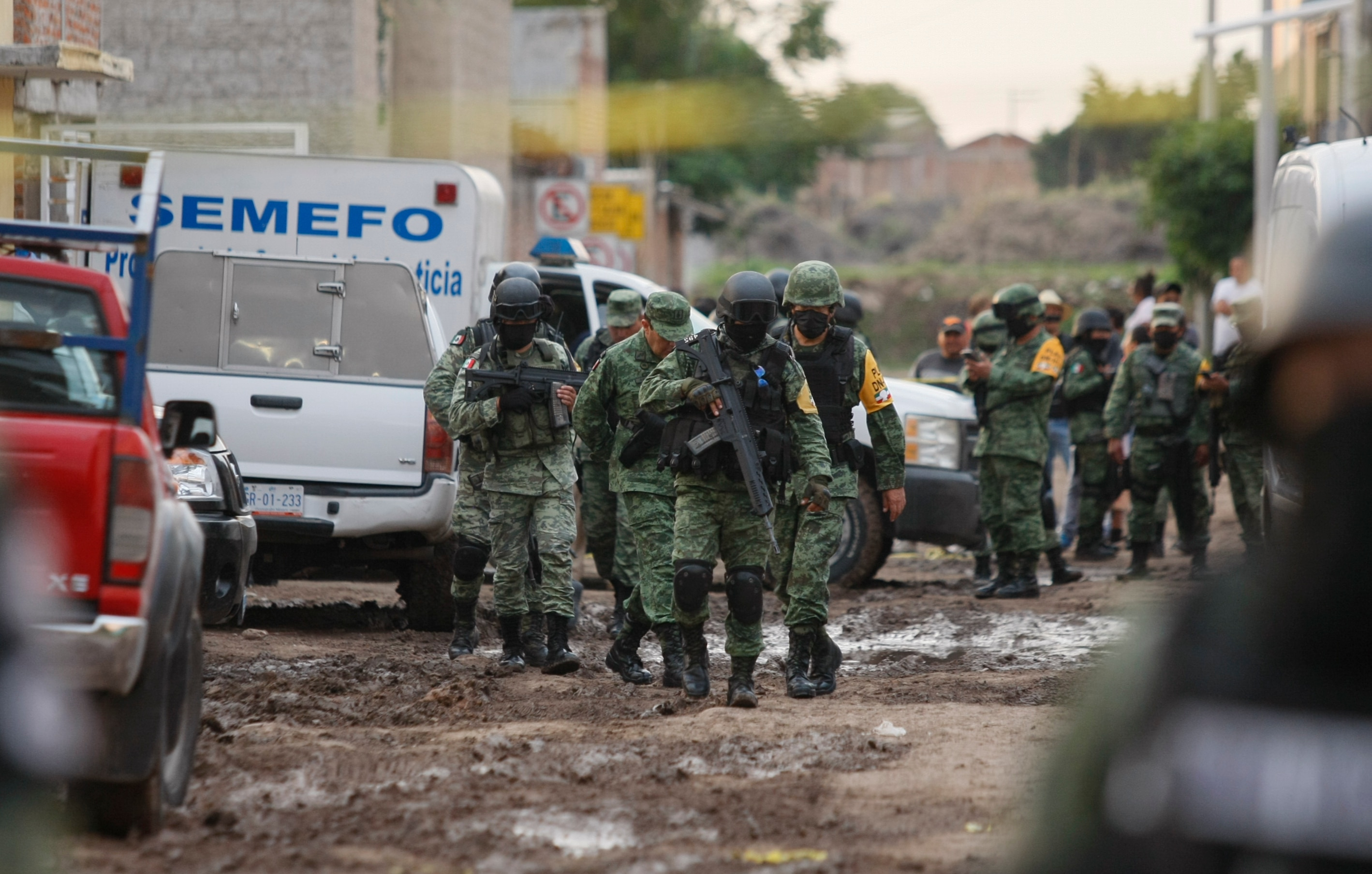 Mexican Authorities try to ID Gunmen who Killed 24 in Drug Rehab Center