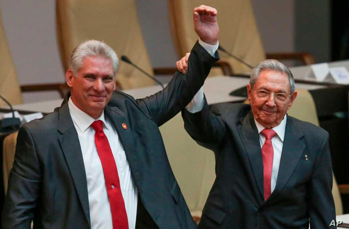 First Clues Emerge About Cuba's Future Under New President | Voice of  America - English
