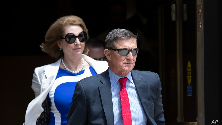 Flynn Attorney Tells US Court She Discussed Criminal Case With Trump |  Voice of America - English
