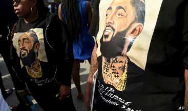 Nipsey Hussle Memorial Reveals the Man Behind Rap Persona | Voice ...