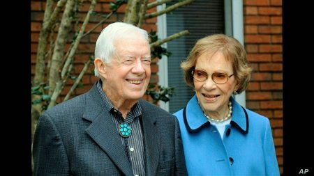 Jimmy And Rosalynn Carter Won't Attend Biden's Inauguration | Voice Of  America - English