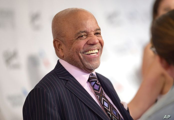 FILE - In this June 15, 2017 file photo, Berry Gordy attends the 48th Annual Songwriters Hall of Fame Induction and Awards...