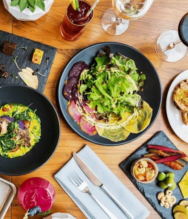 Althea vegan restaurant in Chicago