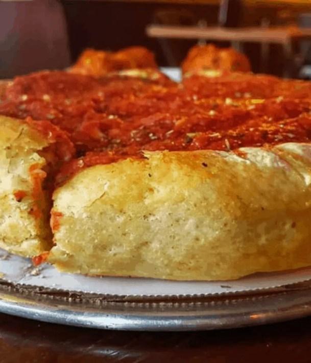 Chicago House of Za vegan pizza