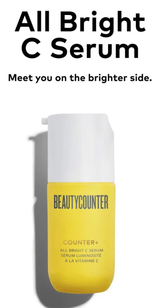 New Vitamin C Serum from BeautyCounter