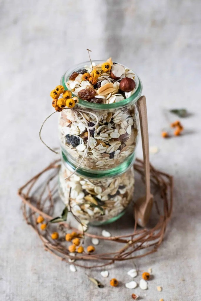 homemade healthy granola for mothers day