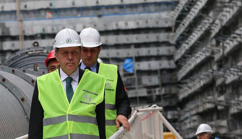 Erdoğan: İnşaat sektörünün olmadığı ülke bitmiş demektir