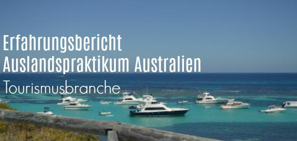 Auslandspraktikum Australien
