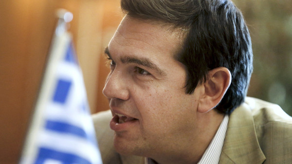 Alexis Tsipras, the Greek prime minister