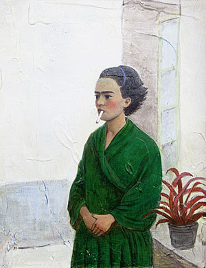 'Frida in Green' (2012) by Chen Ke at Star Gallery