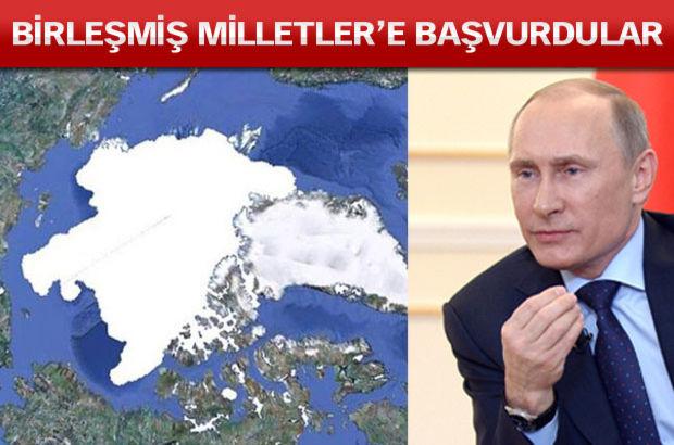 Rusya, Kuzey Kutbu'nun 1,2 milyon kilometrekarelik alanı üzerinde hak sahibi olduğunu iddia ederek yeniden BM'ye başvuruda bulundu. Rusya'nın 2002'deki başvurusu reddedilmişti