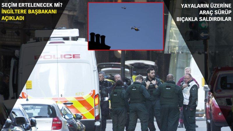 Londrada terör! 3ü saldırgan 9 kişi öldü