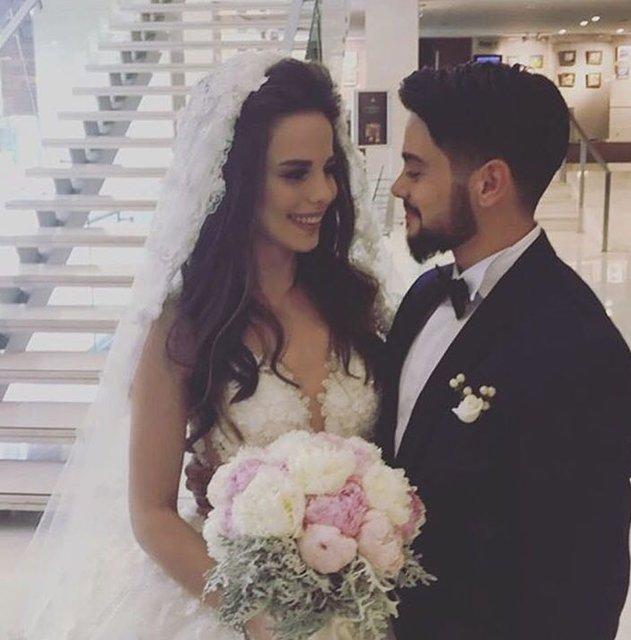 Rüzgar Erkoçlar ile Tuğba Beyazoğlu evlendi