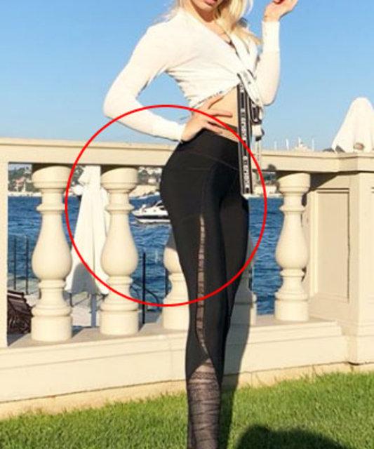 Aleyna Tilki'nin paylaşımı sosyal medyayı salladı! Photoshop... - Magazin haberleri