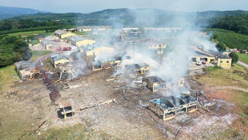 Son dakika haberi Sakarya'da havai fişek fabrikasında patlama! 3 ...