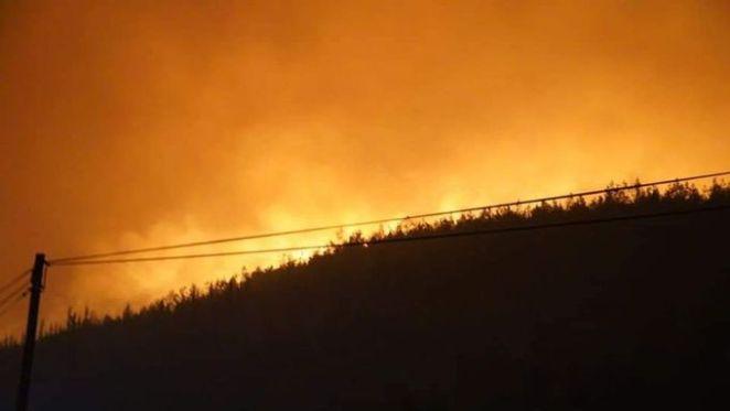 Çökertme'de yangın devam ediyor! Alevler termik santrale ilerliyor 14