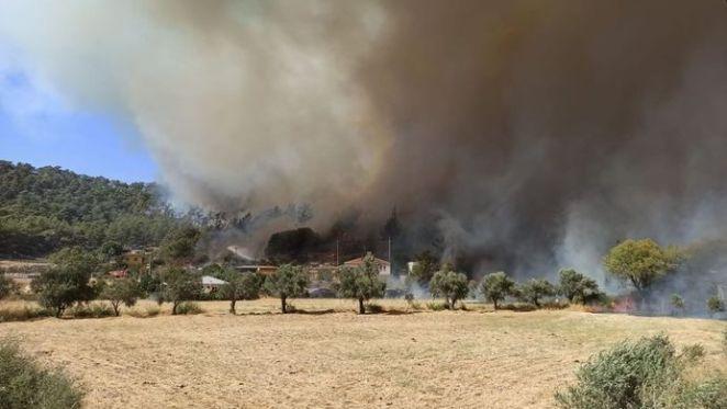Yangında son durum: Marmaris, Fethiye, Bodrum, Antalya yangınlarında son durum 16