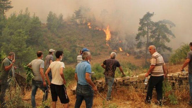 Yangında son durum: Marmaris, Fethiye, Bodrum, Antalya yangınlarında son durum 15