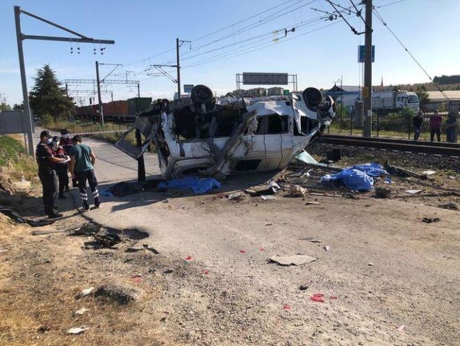 FECİ KAZA: Tekirdağ'da son dakika tren kazası! Ölüler var! - VİDEO HABER 14