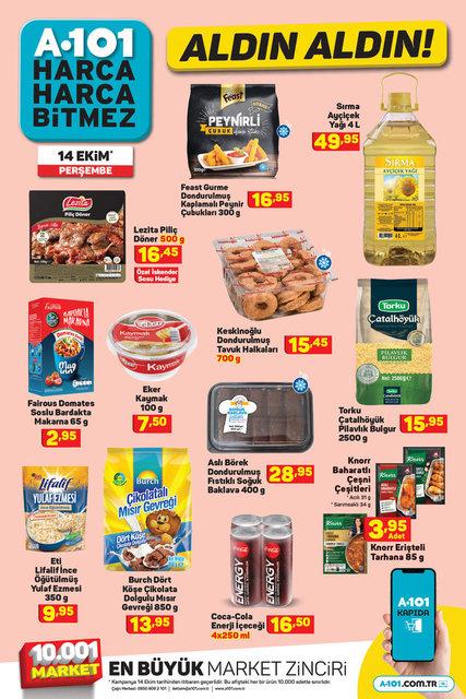 A101 14 Ekim Aktüel ürünler kataloğu yayınlandı! A101'de bu hafta neler var? İşte 14 Ekim Perşembe A101 indirimli ürünler listesi