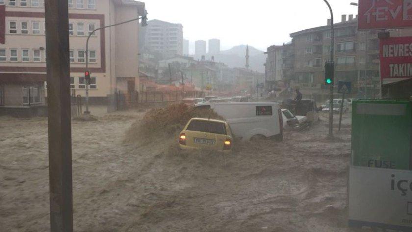 Шесть человек пострадали из-за наводнения вАнкаре