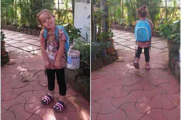 Çocuğa Hindistan'da okul bulmak!
