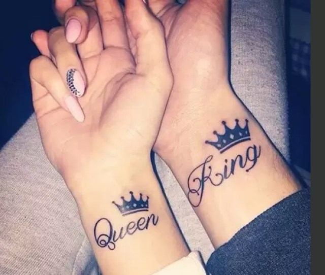 Couple Tattoos That Are The Perfect Valentines Day Treat