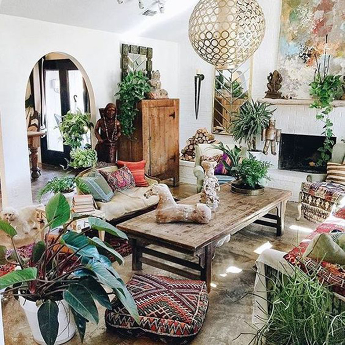 10 Simple Ways You Can Decorate A Bohemian-Style Room On A ... on Boho Bedroom Ideas On A Budget  id=19388