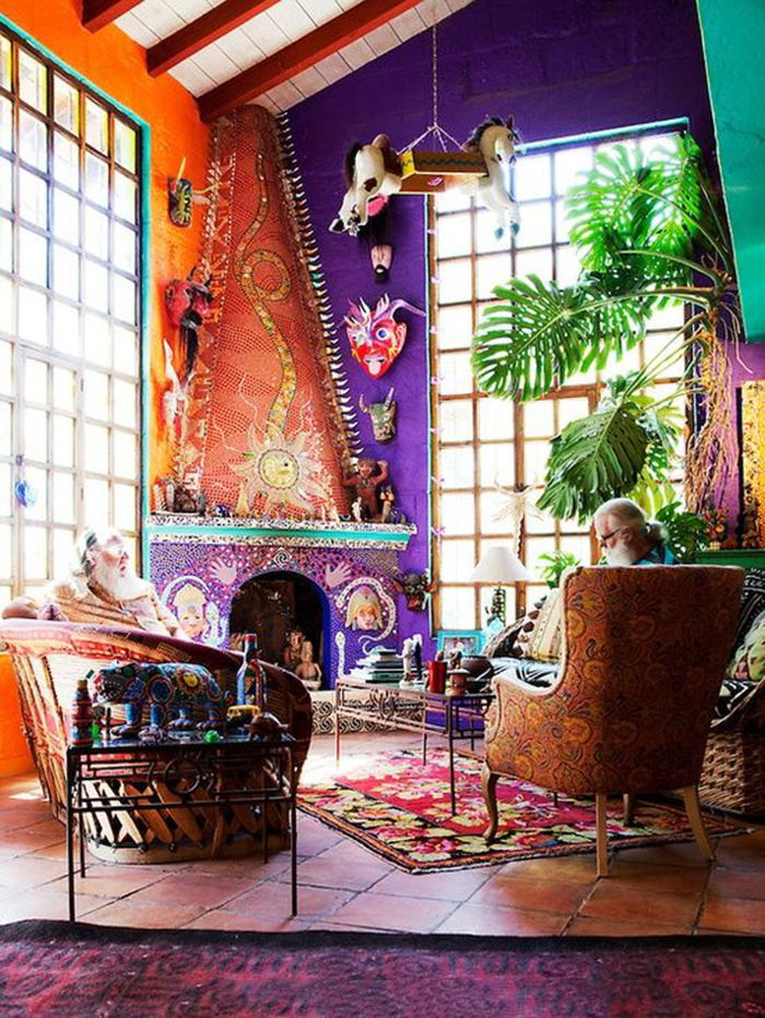 10 Simple Ways You Can Decorate A Bohemian-Style Room On A ... on Boho Bedroom Ideas On A Budget  id=18729