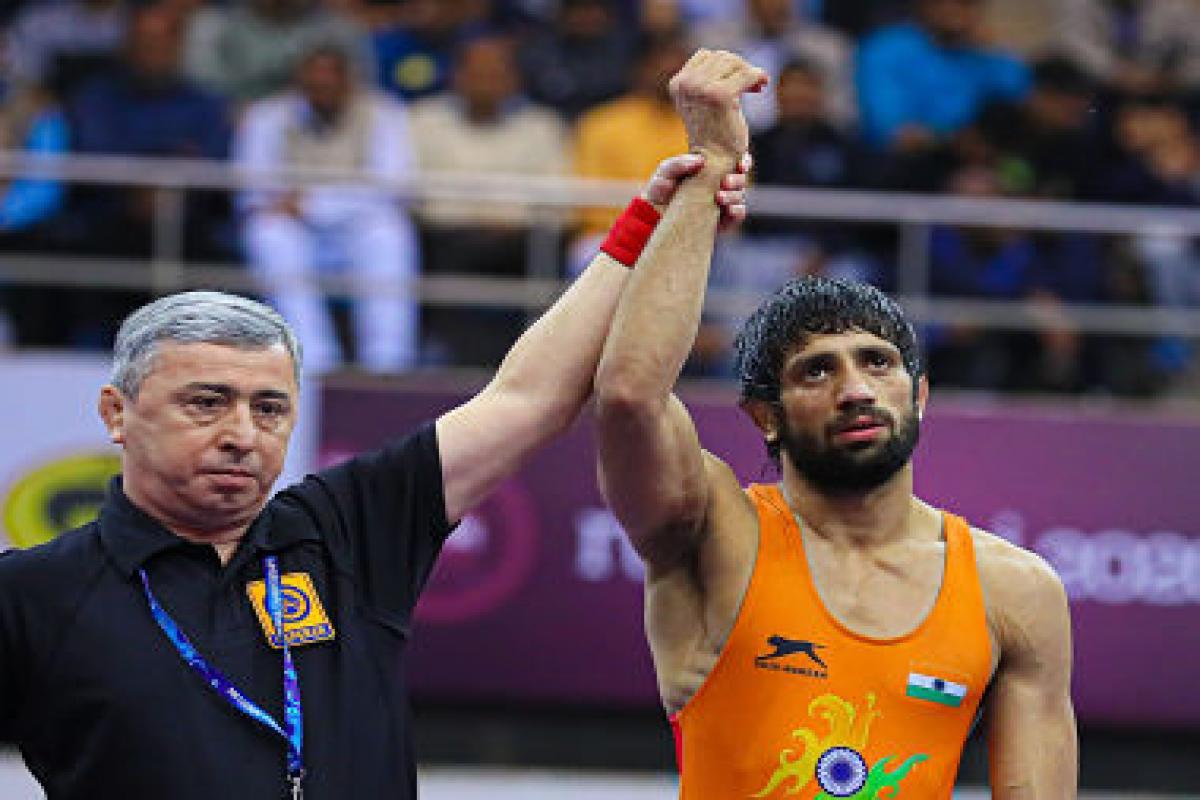 Indian Wrestler Ravi Dahia Wins Gold At Wrestling Tournament